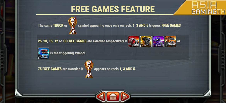 Wild Trucks สล็อตออนไลน์ FEATURE FREE GAMES