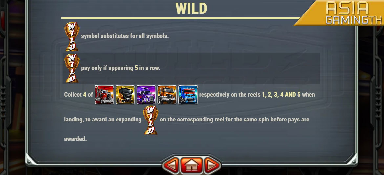 Wild Trucks เกมส์สล็อตออนไลน์ FREE SPINS